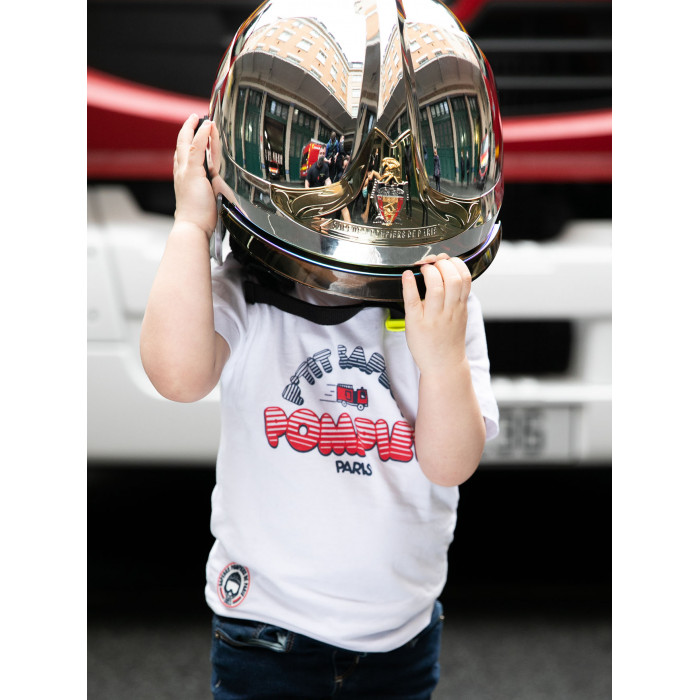 """T-Shirt enfant """"P'tit sapeur-pompier de Paris"""""""