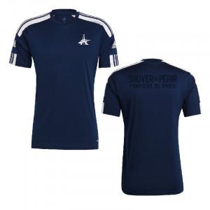 T-shirt bleu adidas x BSPP