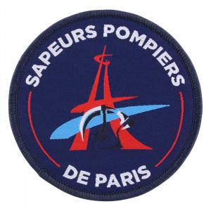 """Ecussion tissé """"Sapeurs Pompiers de paris"""""""
