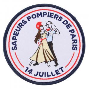 Écusson 14 Juillet Sapeurs pompiers de Paris